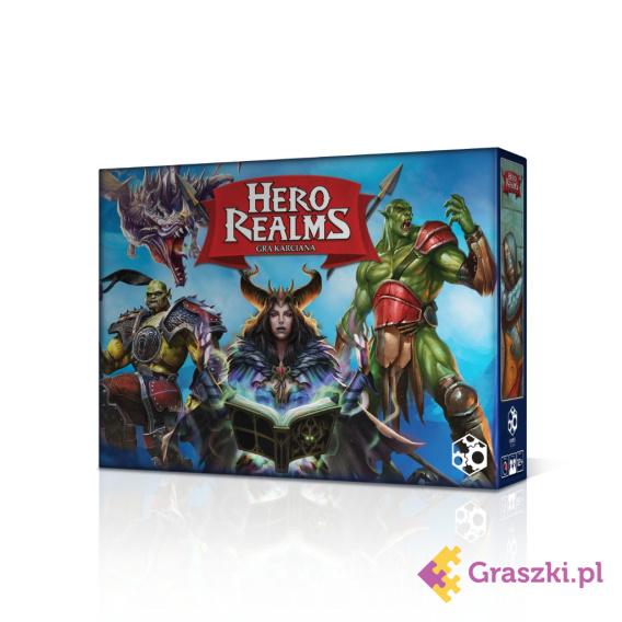 Hero Realms (przedsprzedaż) PL | Games Factory